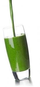 Tarwegrasbar smoothie groen gras gezond